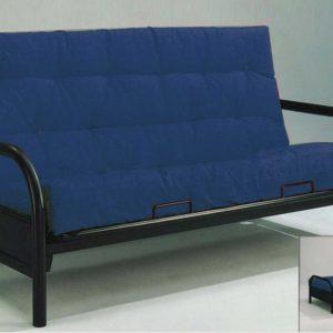 black metal futon only  139 00 futons  u0026 bunk beds archives   mattress warehouse flint  rh   mattresswarehouseflint