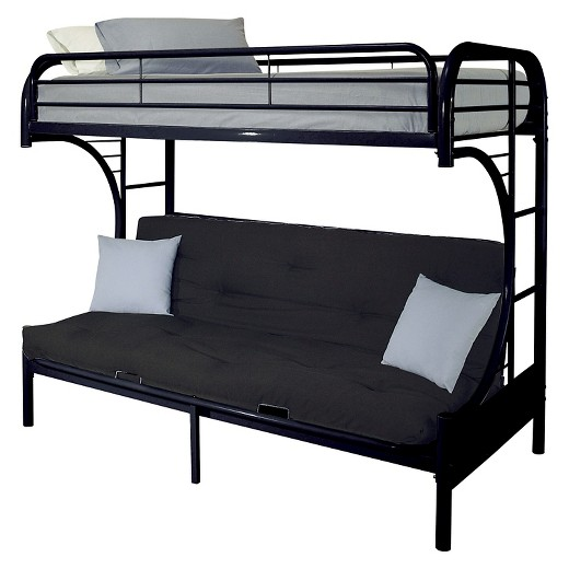 Twin Futon Bunk Bed Complete With Mattresses Mattress Warehouse Flint