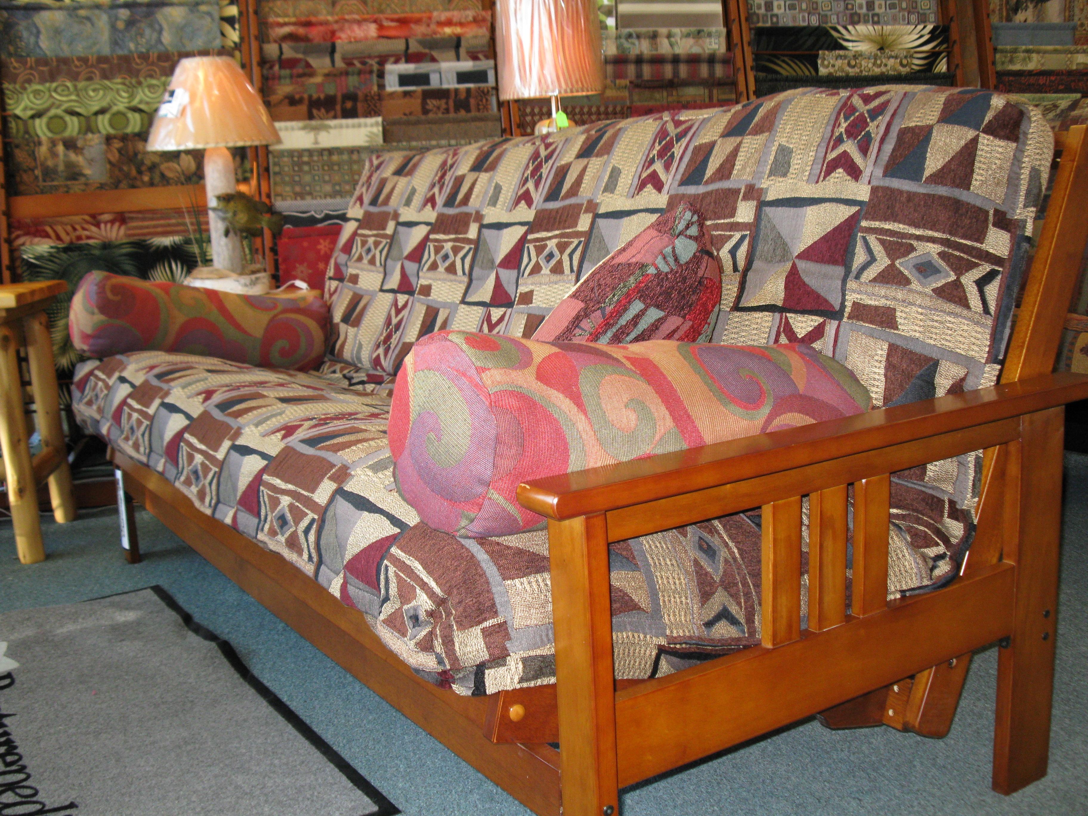 Solid Wood Barbados Futon