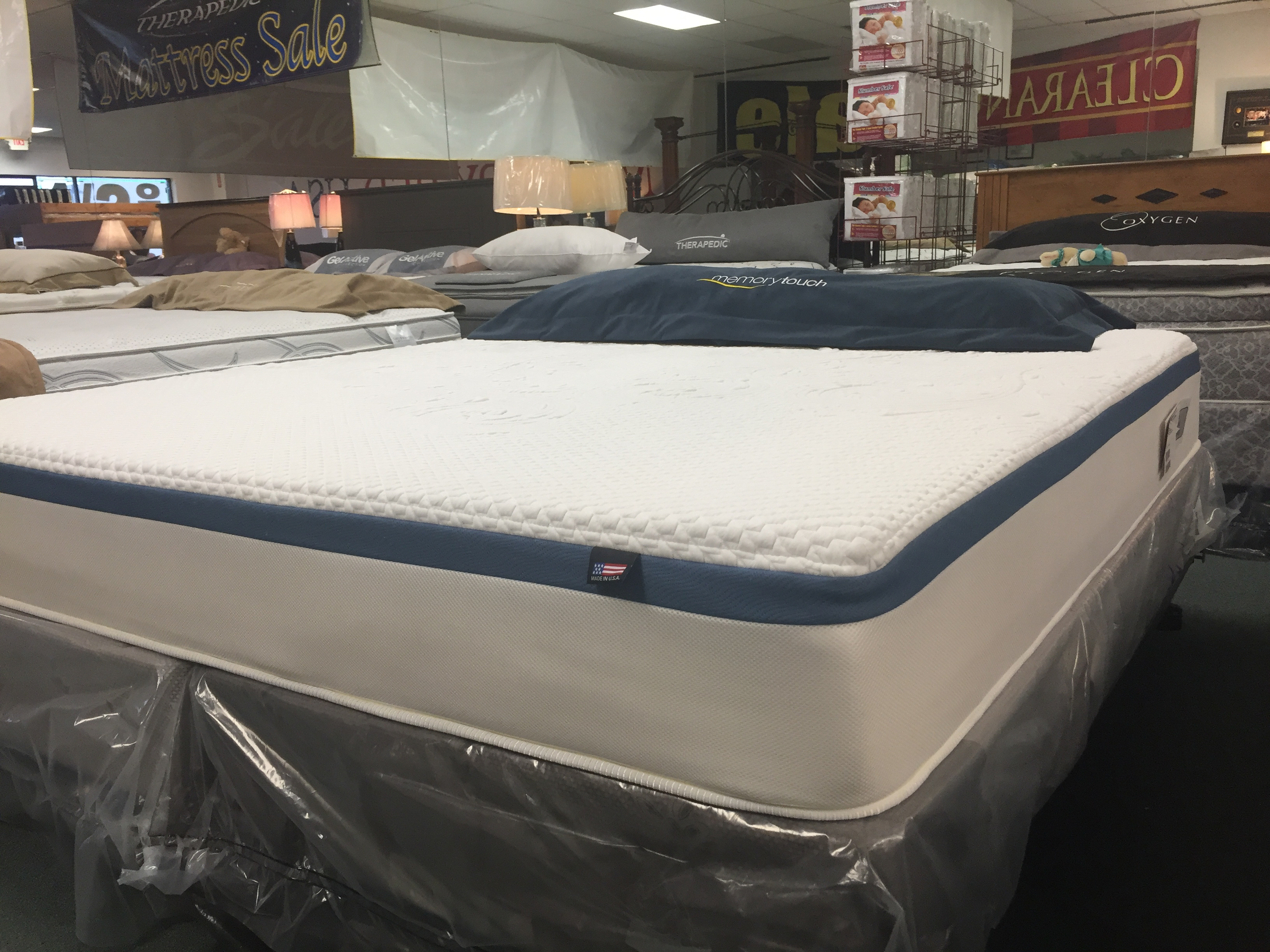Therapedic Treasure Memory Foam Mattress Warehouse Flint