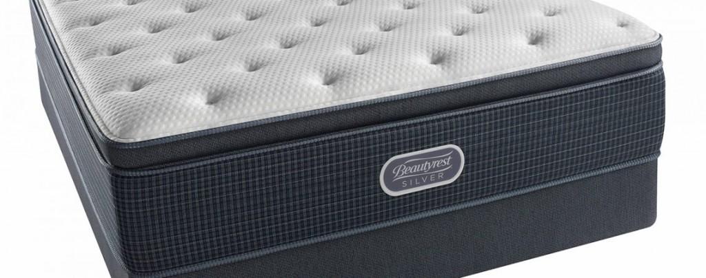 Simmons Beautyrest Silver Offshore Mist Pillow Top